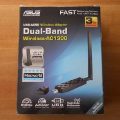 Adaptor wireless ASUS USB-AC56 Dual-band USB 3.0.