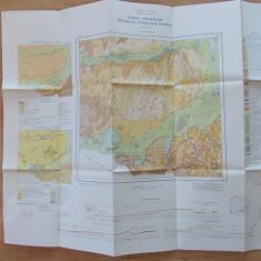 HARTA SOLURILOR RPR- CALARASI- INSTITUTUL GEOLOGIC, 1:200.000