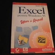 EXCEL PENTRU WINDOWS-95-196 PG A 4-ED-ALL- - Carte sisteme operare