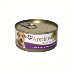 Applaws Dog Adult Piept de Pui si Legume, Conserva 156 gr - Mancare caini