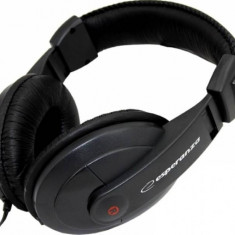 Casti Esperanza Reggae, Casti On Ear, Cu fir, Mufa 3, 5mm, Active Noise Cancelling