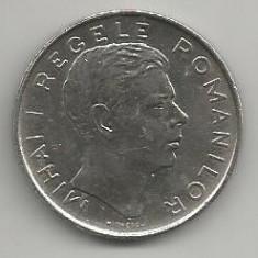 ROMANIA MIHAI I - 100 LEI 1943 [6] livrare in cartonas - Moneda Romania, Fier