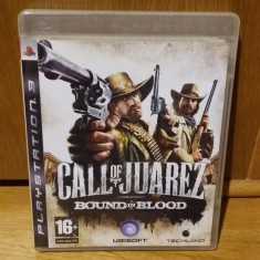 PS3 Call of Juarez Bound in blood - joc original by WADDER - Jocuri PS3 Ubisoft, Shooting, 16+, Single player