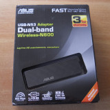 Adaptor wireless ASUS USB-N53 Dual-band USB 3.0.