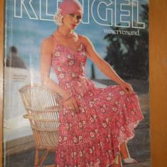 CATALOG MODA VINTAGE 1978 - KLINGEL : PRIMAVARA - VARA - IN LIMBA GERMANA - Revista moda
