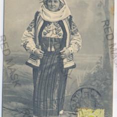 2376 - Bucovina, Suceava, CAMPULUNG, ethnic - old postcard - used - TCV - 1909 - Carte Postala Bucovina 1904-1918, Circulata, Printata
