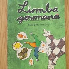 LIMBA GERMANA, MANUAL PENTRU CLASA A II-A- UNGUREANU - Curs Limba Germana Altele
