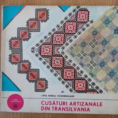 CUSATURI ARTIZANALE DIN TRANSILVANIA- LIVIA GOREA TICHINDELEANU - Carte Arta populara
