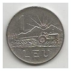 ROMANIA RPR 1 LEU 1963 [1] VF, livrare in cartonas - Moneda Romania, Fier