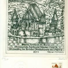 Timbru Gravat - Emisiunea comuna Romania Germania 2011