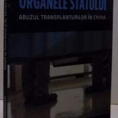 ORGANELE STATULUI ABUZUL TRANSPLANTURILOR IN CHINA, 2013 - Istorie