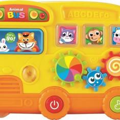 Jucarie Muzicala Autobuzul Magic - Jucarie zornaitoare Baby Mix