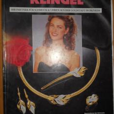 CATALOG BIJUTERII ANUL 1991 - KLINGEL - IN LIMBA GERMANA - Revista moda