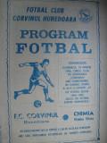 Corvinul Hunedoara - Chimia Rm. Valcea (18 martie 1984)
