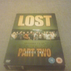 LOST - SERIES 2 - PART TWO - EPISOADE 13-24 - 4 DVD - Film serial, Actiune, Engleza