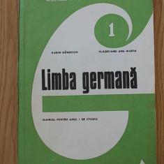 LIMBA GERMANA, MANUAL PENTRU ANU I, GUNDISCH, VLADOIANU - Curs Limba Germana Altele