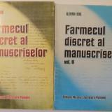FARMECUL DISCRET AL MANUSCRISELOR VOL I-II, 1998