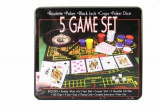 Set poker si ruleta 5in1