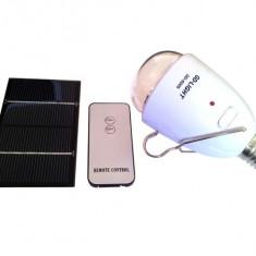 Bec GD-Light 5005 economic cu incarcare solara si telecomanda, Becuri economice, E27