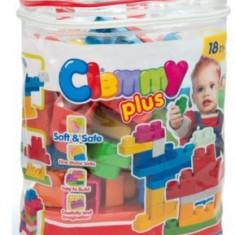 Clemmy - Plasa Cu 30 Cuburi - Jucarie zornaitoare Clementoni