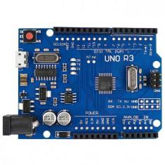 Placa de dezvoltare compatibila Arduino UNO R3 Atmega328P CH340G micro USB