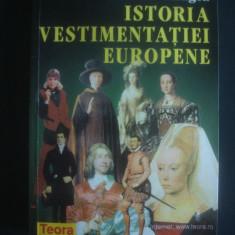 CECILIA CARAGEA - ISTORIA VESTIMENTATIEI EUROPENE - Istorie