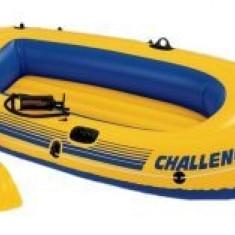 Barca pneumatica cu vasle si pompa Intex 68367
