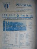 Chimia Rm. Valcea - FCM Galati (26 octombrie 1980)