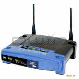 Linksys Wireless Broadband Router 802.11g, 4 x 10/100 ports LAN, 2 x external antenna, Wi-Fi Prote - Router wireless