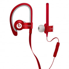 Beats Căşti Beats PowerBeats2, red Monster Beats by Dr. Dre, Casti In Ear, Cu fir, Mufa 3, 5mm, Active Noise Cancelling