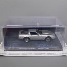Chevrolet Corvette James Bond, 1/43 - Macheta auto