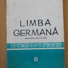 LIMBA GERMANA- manual pentru anul II- CALUGARITA, DANCIU - Curs Limba Germana Altele