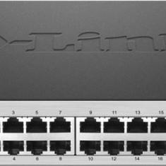 D-Link Switch D-Link DGS-1100-26, 24 porturi Gigabit, 2 porturi SFP, Capacity 52Gbps, 11