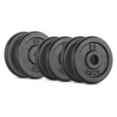CAPITAL SPORTS IPB 20 KG, Set de greutăți, 4 x 2, 5 kg și 2 x 5 kg, 30 mm - Benzi magnetice