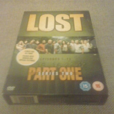 LOST - SERIES 2 - PART ONE - EPISOADE 1-12 - 4 DVD - Film serial, Actiune, Engleza