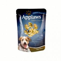 Applaws Dog Adult cu pui, somon si alge marine, plic 150 gr - Mancare caini