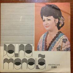 Polina Manoila - Muzica Populara electrecord - vinil