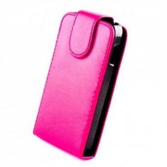 Husa piele Sligo Samsung Galaxy S5 Roz - Husa Telefon