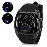 Cadoul Ideal-Ceas Logic RPM Turbo,Display LED,arata Secunda,Minut,Ora,Data,An