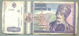 A1488 BANCNOTA-ROMANIA- 5000 LEI-1992-SERIA 0003-AVRAM IANCU-starea care se vede