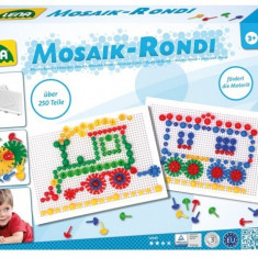 Set Creatie Mozaic Si Rondi 250 Piese - Jocuri arta si creatie Lena