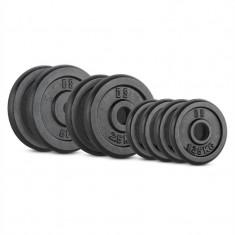 CAPITAL SPORTS IPB 20 KG, Set de greutăți, 4 x 1, 25 kg, 2 x 2, 5 kg și 2 x 5 kg, 30 mm - Benzi magnetice