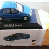 Macheta metal Renault (Dacia) LOGAN ph2 Facelift 2008 - noua, scara 1:43 - Macheta auto