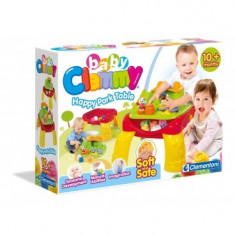 Clemmy - Masa De Joaca Cu Cuburi - Jucarie zornaitoare Clementoni