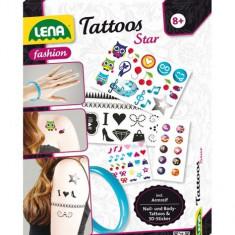 Set Creatie Tatuaje Lena - Jocuri arta si creatie