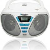 Radio CD portabil Blaupunkt BB5WH MP3/USB alb - Aparat radio