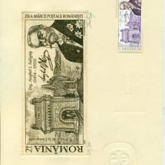 Timbru Gravat - Ziua Marcii Postale #2 - Octavian Penda - 2009