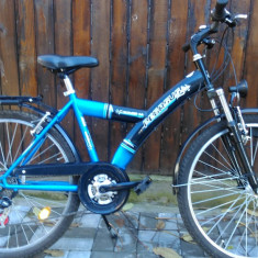 Bicicleta MTB ca noua, Pegasus, import Germania - Mountain Bike, 17 inch, 26 inch, Numar viteze: 21