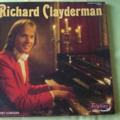 RICHARD CLAYDERMAN - 3 LP Original (Delphine-France) - Muzica Ambientala, VINIL