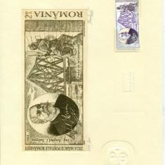 Timbru Gravat - Ziua Marcii Postale #1 - Octavian Penda - 2009